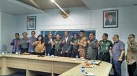 Komisi I DPR RI melakukan sidak ke RSPAD Gatot Soebroto, Jakarta Pusat terkait sanksi MKEK IDI terhadap dr Terawan, pada Rabu, 4 April 2018. (Foto: Liputan6.com/Benedikta Desideria)