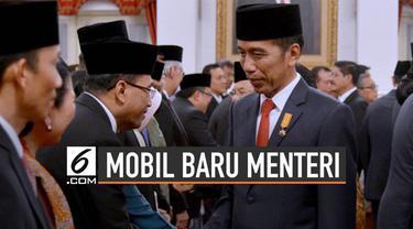 Menteri di bawah Jokowi bakal menggunakan mobil baru. Informasi tersebut tercatat di dalam situs LPSE Kemenkeu.