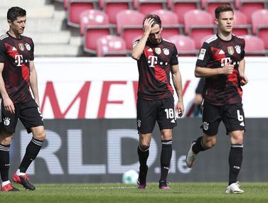 FOTO: Takluk 1-2 dari FSV Mainz, Bayern Munich Gagal Kunci Gelar Juara Liga Jerman - Tim Bayern Munich