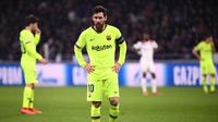 2. Lionel Messi (Barcelona) - 6 gol dan 1 assist (AFP/Franck Fife)