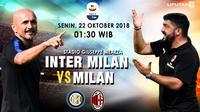 Prediksi Inter Milan VS  Milan (Liputan6.com/Trie yas)