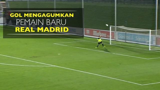 Gol Mengagumkan Jarak Jauh Pemain Baru Real Madrid