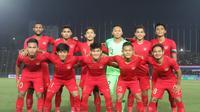 Timnas Indonesia U-22 menang 2-1 atas Thailand pada laga final Piala AFF U-22, di Stadion Olympic, Phnom Penh, Kamboja, Selasa (26/2/2019) malam WIB. (Bola.com/Zulfirdaus Harahap)