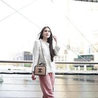 Koleksi Tas Sandra Dewi, Channel CC Filigree Vanity case (dok.Instagram@sandradewi88/https:/https://www.instagram.com/p/BzFAdOGBFT5//Devita Nur Azizah