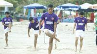 Zulkifli Syukur jadi kapten PSM Makassar di Liga 1 2018. (Bola.com/Abdi Satria)