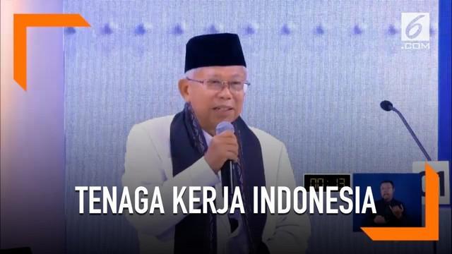 Ini cara Ma'ruf Amin dalam meningkatkan tenaga kerja indonesia.