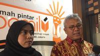 Ketua KPU RI Arief Budiman mengapresiasi langkah inisiatif dari KPU DKI. Dia berharap kangkah ini dapat diterapkan secara masif di seluruh provinsi dan kabupaten/kota seluruh Indonesia. (Foto: Ditto Radityo)