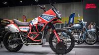 Tampang sangar Royal Enfield Himalayan edisi Dakar. (Motociclismo)