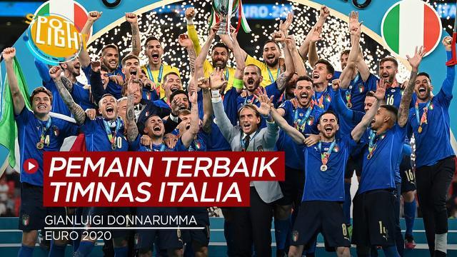 Berita video spotlight kali ini tentang empat pemain Timnas Italia yang tampil cemerlang di Euro 2020.