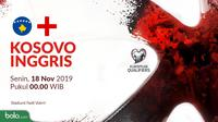 Kualifikasi Piala Eropa 2020 - Kosovo Vs Inggris (Bola.com/Adreanus Titus)