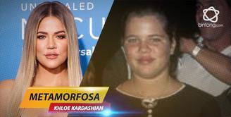 Bintang Metamorfosa: Khloe Kardashian
