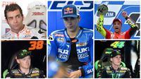 Berikut ini 5 pebalap muda yang diyakini akan menggebrak MotoGP 2016. (Bola.com / EPA)
