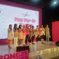 Opening Ceremony Estee Lauder Pink Pop-up Market.