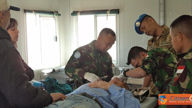TNI Segera Kirim Batalyon Kesehatan 1 Kostrad dan 2 Marinir ke Lombok