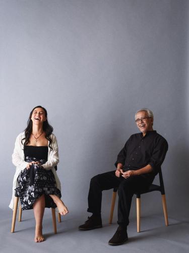 Iwan Fals dan Sandrayati Fay. (instagram.com/@sandrayatifay