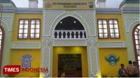 Salah satu pos pengamanan mudik yang ada di Kabupaten Gresik (TIMES Indonesia/Akmal)