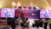 Menteri Pariwisata Arief Yahya saat acara coaching clinic event untuk meningkatkat SDM pariwisata (Liputan6.com/Komarudin)