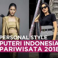 Personal Style Puteri Indonesia Pariwisata 2018
