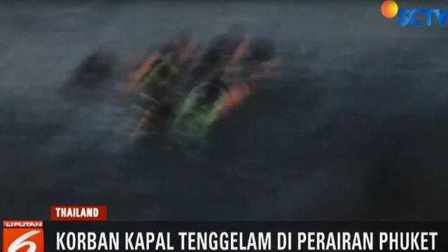 Otoritas setempat menyatakan 46 korban tewas adalah termasuk seorang penumpang yang masih terperangkap di dalam kapal.