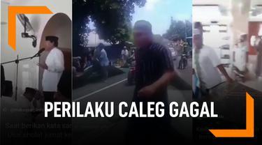 Deretan Perilaku Caleg Gagal, Bikin Warga Geram