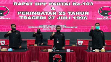 PDIP Peringati 25 Tahun Tragedi 27 Juli 1996 atau Kudatuli.