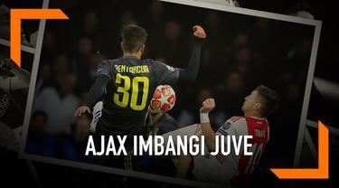 Ajax bermain imbang dengan Juventus di Amsterdam Arena. Gol pada pertandingan ini dicetak David Neres dan Cristiano Ronaldo.