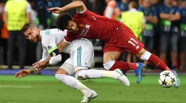 Sergio Ramos dan Pemain Paling Kasar di Liga Eropa