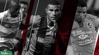 Trivia Penyerang di Liga 1 yang Belum dicoba Milla (Bola.com/Adreanus Titus)