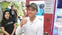 Kaesang Pangarep hadir di acara Nongkrong Esports Kuy! Bareng Ternakopi, Jumat (29/11/2019). (Liputan6.com/ Pramita Tristiawati)
