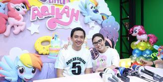 Rayakan ulang tahun anak pertama yang ke lima tahun, Ayu Dewi keluarkan uang ratusan juta.