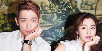 Kebahagiaan tengah menyelimuti pasangan Rain dan Kim Tae Hee. Setelah menanti cukup panjang, akhirnya buah hati mereka lahir juga, pada Rabu (25/10/2017).  (Doc. Ace Showbiz)