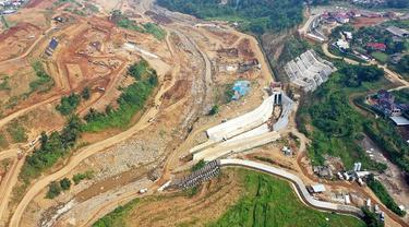 Kementerian PUPR mempercepat pembangunan Bendungan Sukamahi dan Ciawi di Kabupaten Bogor, Jawa Barat. (Dok Kementerian PUPR)