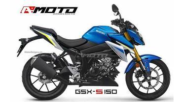 Tampilan baru Suzuki GSX-S150