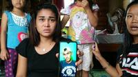 Siti Zulaeha (26), warga Jalan Ki Merogan Lorong Keluarga Palembang menunjukkan foto kekasihnya RT, yang membakar rumahnya ( Liputan6.com / Nefri Inge)