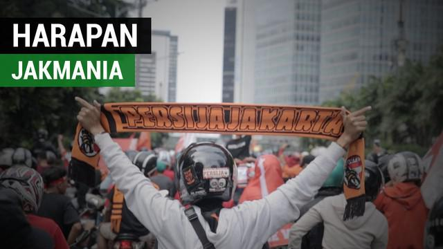 Berita video menganai harapan The Jakmania untuk Persija Jakarta selanjutnya.