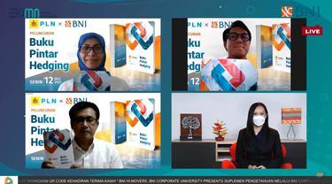 Strategi Redam Volatilitas Pasar Keuangan, BNI-PLN Luncurkan Buku Pintar Hedging