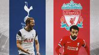 Premier League - Harry Kane Vs Mohamed Salah (Bola.com/Adreanus Titus)