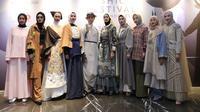 MUFFEST 2020 ini menjadi ajang bertemunya para desainer busana muslim tanah air, juga para desainer muda yang baru merintis di industri fashion Indonesia. Di antaranya adalah Ria Miranda, Nuniek Mawardi, Monika Jufry, Sofie, Barli Asmara. (Daniel Kampua/Fimela.com)