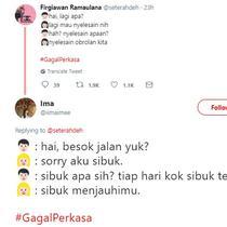 gombalan gagal netizen (foto: twitter/@seterahdeh @iimaimee)