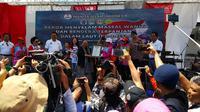 MURI berikan penghargaan kepada Wanita Selam Indonesia (Wasi) (Liputan6.com / Marco Tampubolon)
