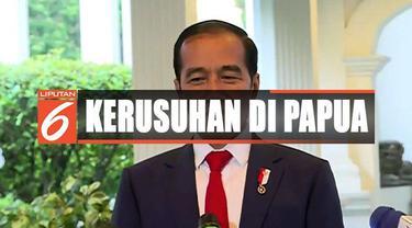 Pernyataan ini disampaikan Jokowi terkait kericuhan di Manokwari menyusul adanya aksi unjuk rasa memprotes persekusi warga terhadap mahasiswa Papua.