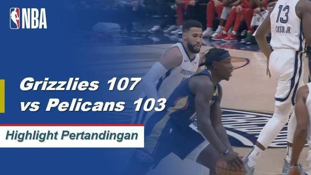 JaMychal Green mencetak 24 poin, Kyle Anderson menambah 19 poin dan 11 rebound ketika Grizzlies mengalahkan Spurs, 107-103.