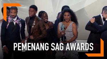 SAG Awards 2019 telah digelar di California, Amerika Serikat. Black Panther berhasil menjadi film terbaik pada gelaran SAG Awards 2019.