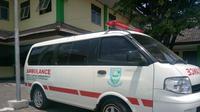 Ilustrasi - Ambulans RSUD Goeteng Taroenadibrata, Purbalingga. Sebanyak 25 tenaga kesehatan di RSUD Goeteng terpapar Covid-19. (Foto: Liputan6.com/Humas Pemkab Purbalingga)