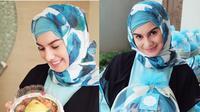 Irish Bella Saat Memakai Hijab (sumber: Instagram.com/_irishbella_)