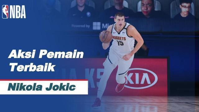 Berita Video Nikola Jokic Bawa Denver Nuggets Kalahkan LA Clippers di NBA