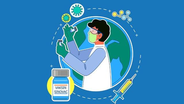 Banner Infografis Vaksin Sinovac Boleh Digunakan dan Halal. (Liputan6.com/Trieyasni)