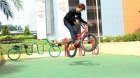 Fasilitas Parkir Sepeda di Tangcity Mall (Liputan6.com/Pool/Tangcity Mall)