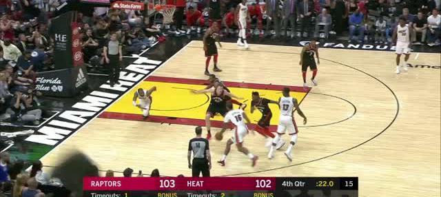 Berita video game recap NBA 2017-2018 antara Miami Heat melawan Toronto Raptors dengan skor 116-109.
