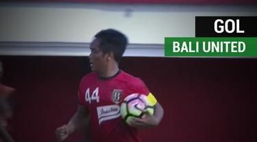 Berita video momen gol perdana Bali United di Piala AFC yang dicetak oleh gelandang Gede Sukadana saat kalah 1-3 dari Yangon United, Selasa (13/2/2018).
